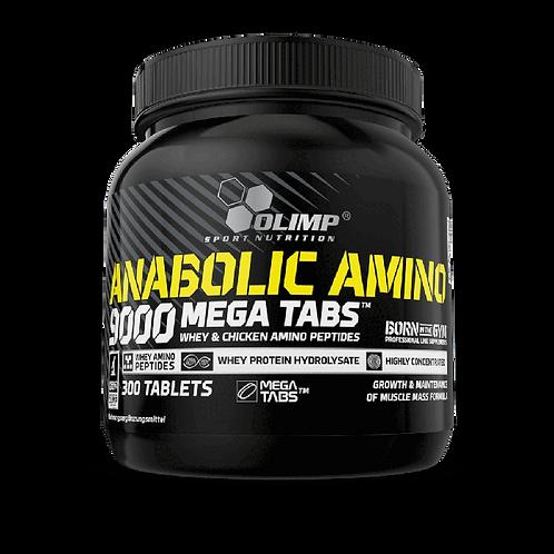 Nahrungsergänzungsmittel ANABOLIC AMINO 9000 MEGA TABS - 300 TABLETS
