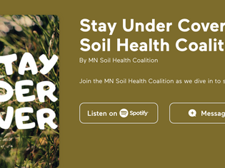 Interview with the MN Soil Health Coalition in December 2020