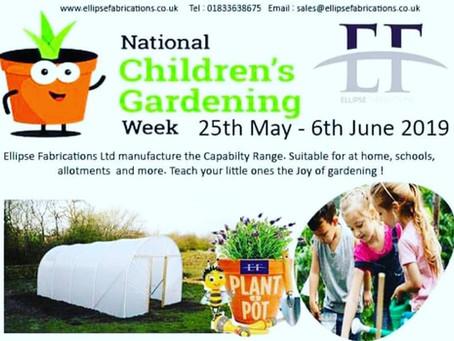 National Childrens Gardening Week