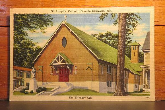 St. Joseph Catholic Church, Ellsworth, Maine