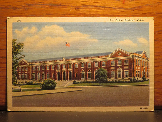 Post Office, Portland, Maine