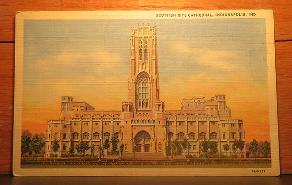 Scottish Rite Cathedral,  Indianapolis,  Ind.