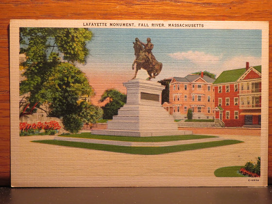Lafayette Monument, Fall River, Massachusetts