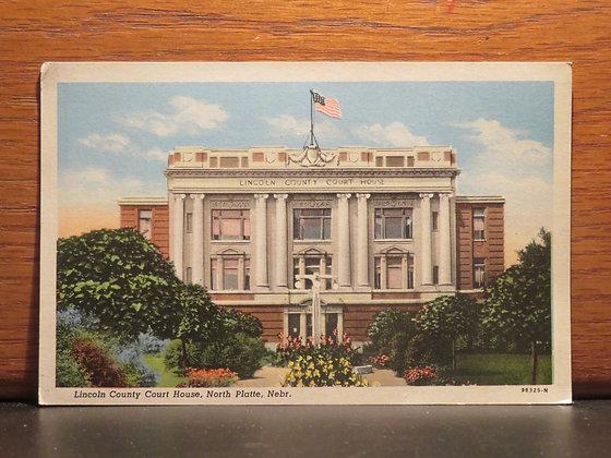 Lincoln County Court House, North Platte, Nebraska