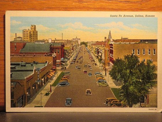 Santa Fe Avenue, Salina, Kansas