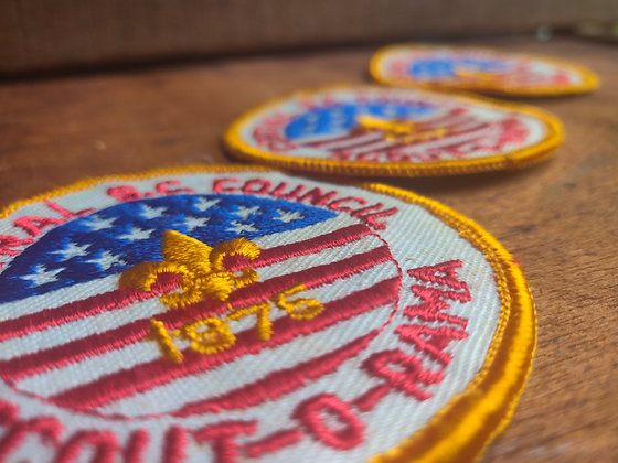 Scout-O-Rama Patches