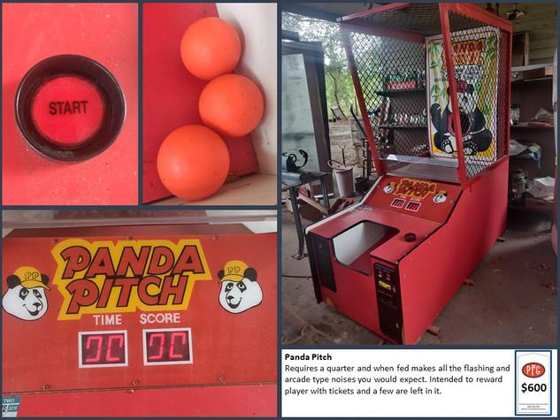 Panda Pitch Arcade Game $600