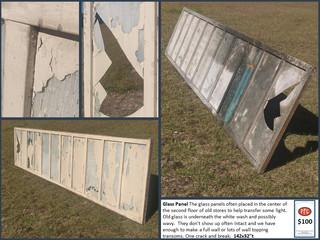 Glass Floor Panel $100