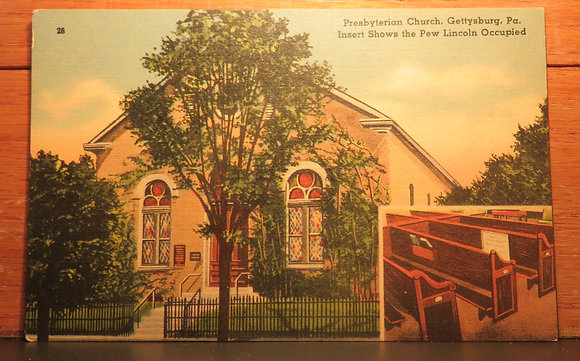 Presbyterian church,  Gettysburg, Pa.