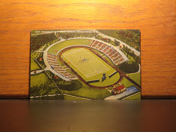 Bowman Gray Memorial Stadium,  Winston Salem, North Carolina