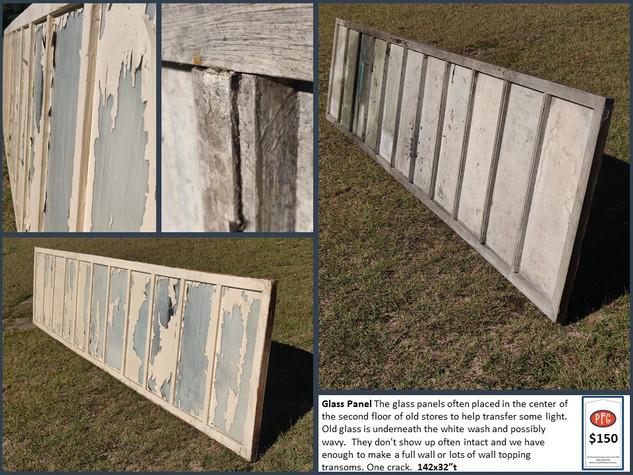 Glass Floor Panel $150