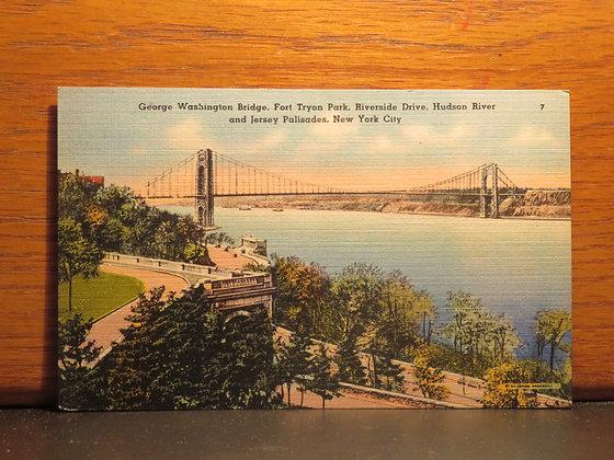 George Washington Bridge, Fort Tryon Park, New York City
