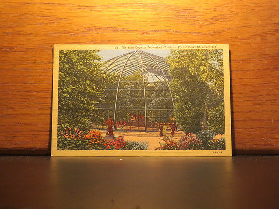 The Bird Cage, Zoological Gardens, Forest Park, St. Louis, Missouri