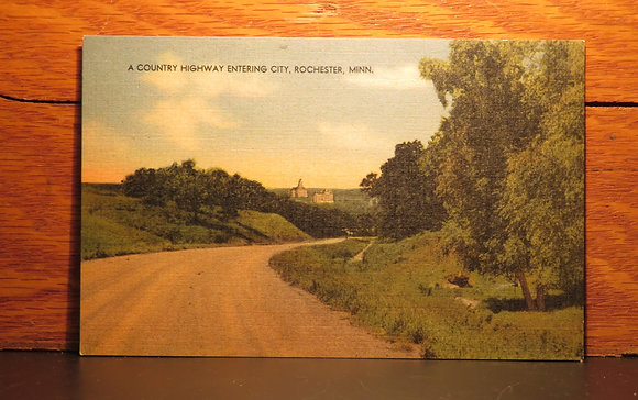 A Country Highway Entering City, Rochester, Minnesota