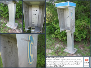 Bell South Payphone Stand $350