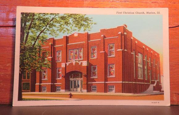 First Christian Church, Marion, Illinois