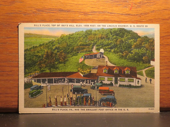 Bill's Place, Top of Ray's Hill,  Pennsylvania