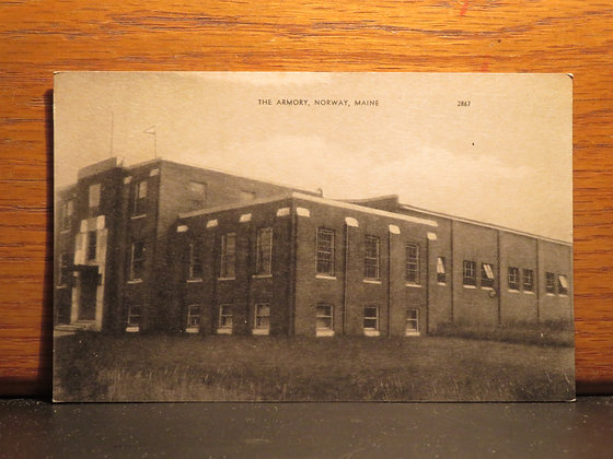 The Armory, Norway, Maine