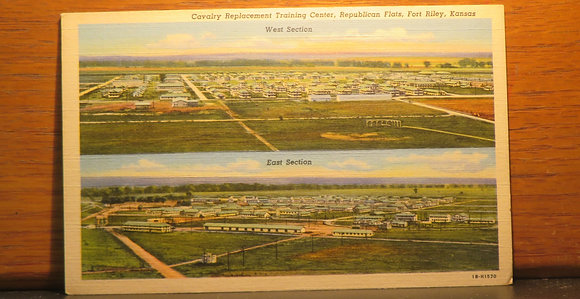 Cavalry Replacement Training Center, Republican Flats, Riley, Kansas