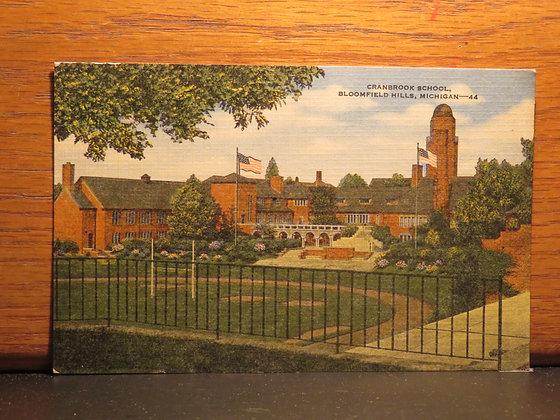 Cranbrook School, Bloomfield Hills, Michigan