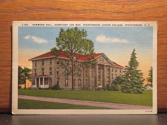 Hammond Hall Dormitory, Spartanburg Junior College, Spartanburg, South Carolina