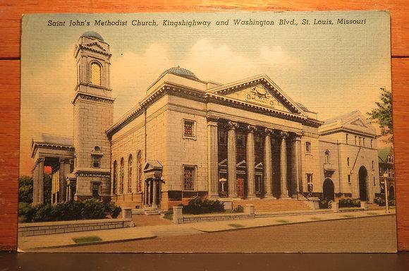 Saint John's Methodist church,  St. Louis,  Missouri