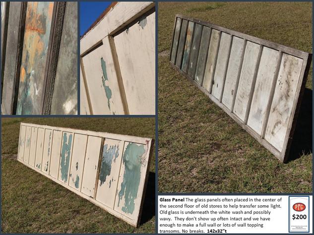 Glass Floor Panel $200
