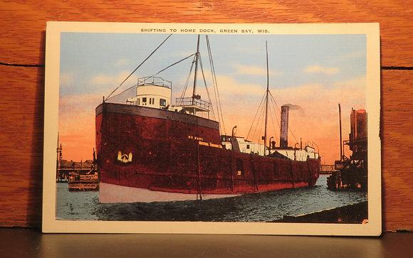 Shifting to Home Dock, Green Bay, Wisconsin