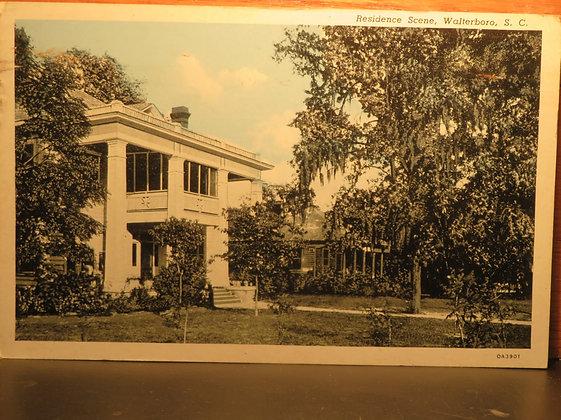 Residence Scene, Walterboro, South Carolina