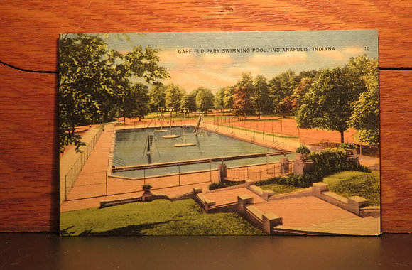 Garfield Park Swimming Pool, Indianapolis, Indiana