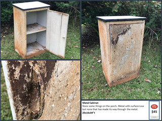 Metal Cabinet $45