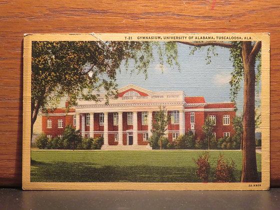 Gymnasium, University of Alabama, Tuscaloosa, Alabama