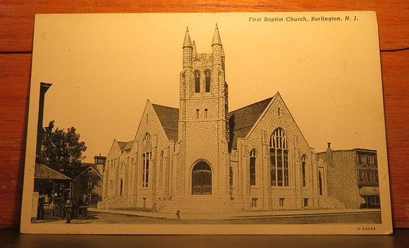 First Baptist Church,  Burlington, N. J.