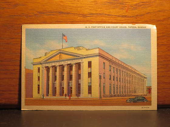 U. S. Post Office And Court House,  Topeka, Kansas