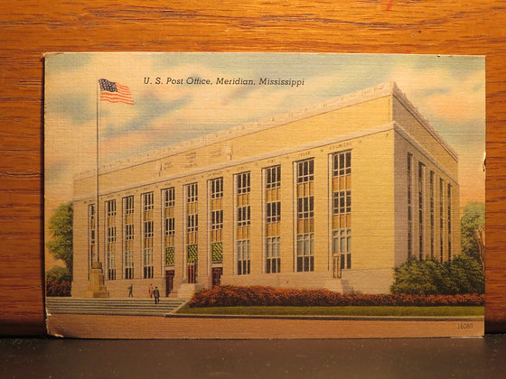 U. S. Post Office, Meridian, Mississippi