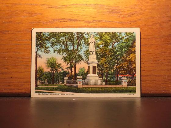 Soldier's Monument, Norwich, Connecticut