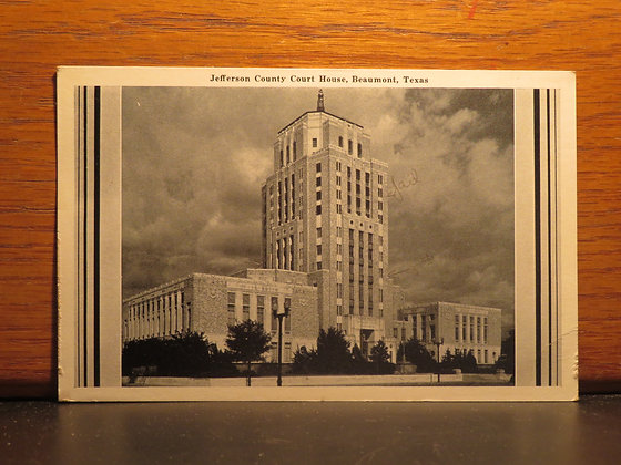 Jefferson County Court House, Beaumont, Texas