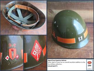 Signal Corp Captains Helmet $90