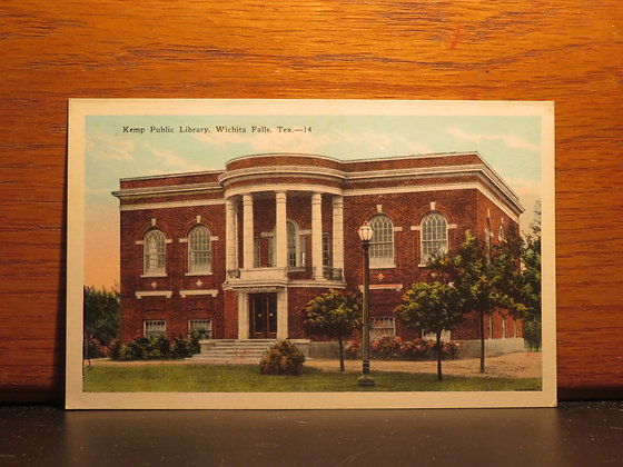 Kemp Public Library, Wichita Falls, Texas