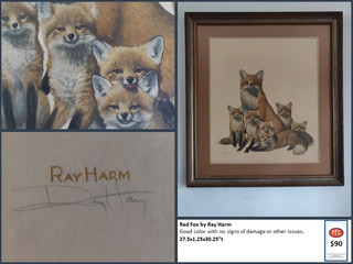 Red Fox by Ray Harm $90
