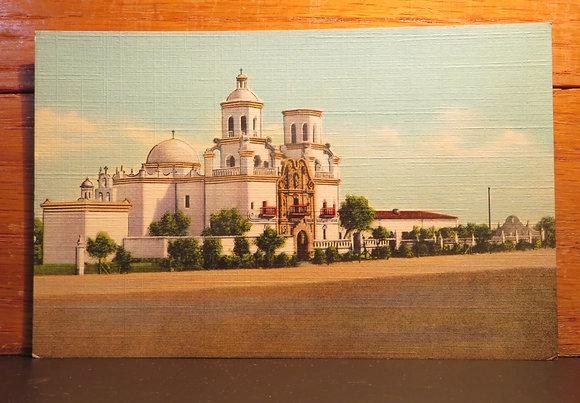 Old Mission, Xavier Del Bac Near Tucson, Arizona
