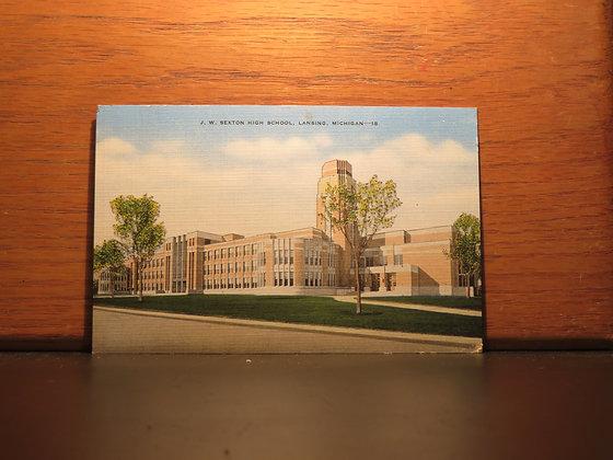 J. W. Sexton High School, Lansing, Michigan
