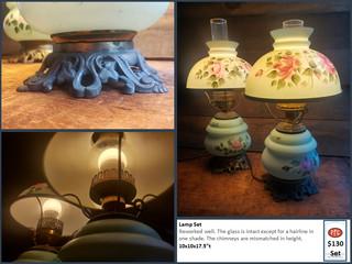 Lamp Set $130