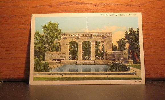 Carey Memorial,  Hutchinson, Kansas