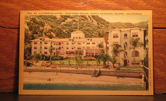 St. Catherine Hotel, Descanso Beach, Santa Catalina Island, California