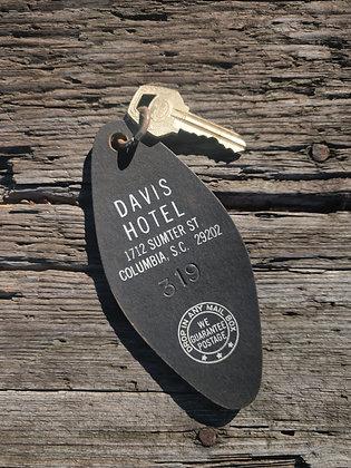 Davis Hotel Key