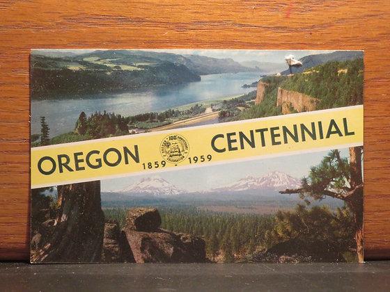 Oregon 1859-1959 Centennial