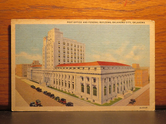 Post Office And Federal Building, Oklahoma City, Oklahoma
