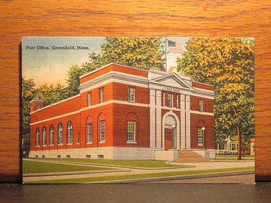 Post Office, Greenfield, Massachusetts