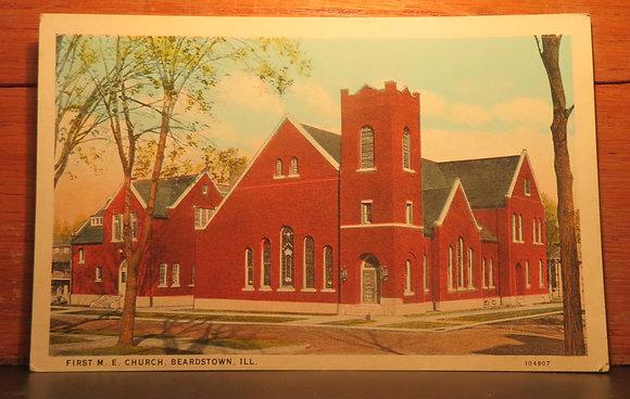 First M. E.  Church,  Beardstown, Illinois